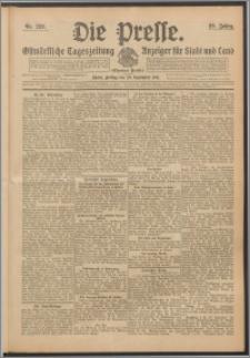 Die Presse 1911, Jg. 29, Nr. 229 Zweites Blatt, Drittes Blatt