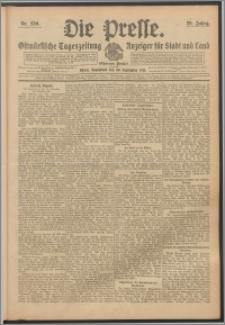Die Presse 1911, Jg. 29, Nr. 230 Zweites Blatt, Drittes Blatt, Viertes Blatt