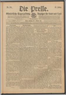 Die Presse 1911, Jg. 29, Nr. 231 Zweites Blatt, Drittes Blatt, Viertes Blatt, Fünftes Blatt, Sechstes Blatt