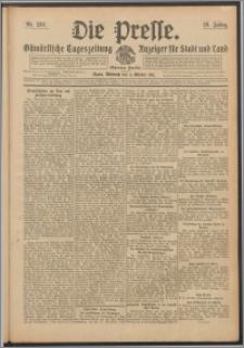 Die Presse 1911, Jg. 29, Nr. 233 Zweites Blatt, Drittes Blatt, Viertes Blatt