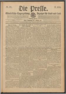 Die Presse 1911, Jg. 29, Nr. 234 Zweites Blatt, Drittes Blatt, Viertes Blatt