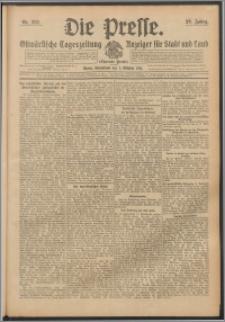 Die Presse 1911, Jg. 29, Nr. 236 Zweites Blatt, Drittes Blatt, Viertes Blatt