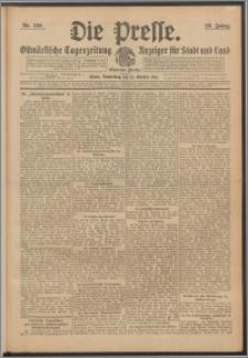 Die Presse 1911, Jg. 29, Nr. 240 Zweites Blatt, Drittes Blatt