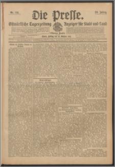 Die Presse 1911, Jg. 29, Nr. 241 Zweites Blatt, Drittes Blatt, Viertes Blatt