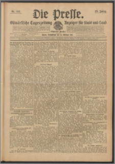 Die Presse 1911, Jg. 29, Nr. 242 Zweites Blatt, Drittes Blatt