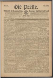 Die Presse 1911, Jg. 29, Nr. 244 Zweites Blatt, Drittes Blatt, Viertes Blatt