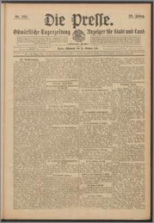 Die Presse 1911, Jg. 29, Nr. 245 Zweites Blatt, Drittes Blatt