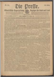 Die Presse 1911, Jg. 29, Nr. 248 Zweites Blatt, Drittes Blatt, Viertes Blatt
