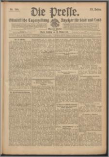 Die Presse 1911, Jg. 29, Nr. 249 Zweites Blatt, Drittes Blatt, Viertes Blatt, Fünftes Blatt