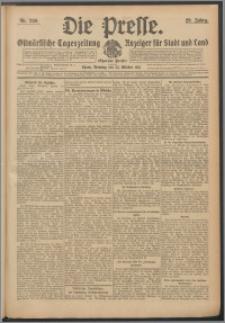 Die Presse 1911, Jg. 29, Nr. 250 Zweites Blatt, Drittes Blatt, Viertes Blatt