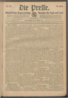 Die Presse 1911, Jg. 29, Nr. 251 Zweites Blatt, Drittes Blatt