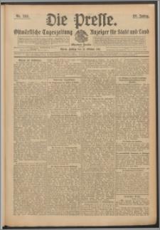 Die Presse 1911, Jg. 29, Nr. 253 Zweites Blatt, Drittes Blatt