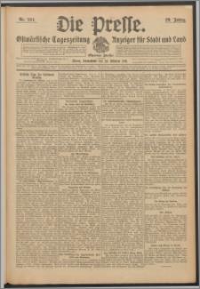 Die Presse 1911, Jg. 29, Nr. 254 Zweites Blatt, Drittes Blatt