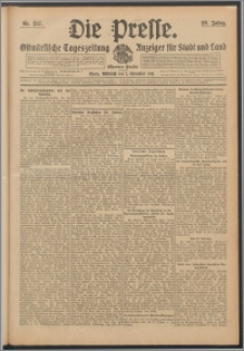 Die Presse 1911, Jg. 29, Nr. 257 Zweites Blatt, Drittes Blatt, Viertes Blatt