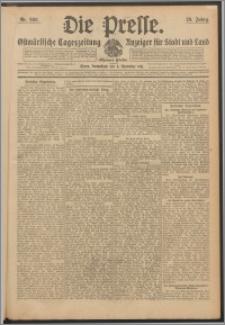 Die Presse 1911, Jg. 29, Nr. 260 Zweites Blatt, Drittes Blatt