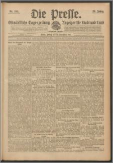 Die Presse 1911, Jg. 29, Nr. 265 Zweites Blatt, Drittes Blatt