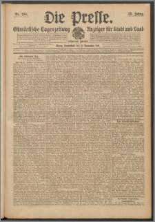 Die Presse 1911, Jg. 29, Nr. 266 Zweites Blatt, Drittes Blatt
