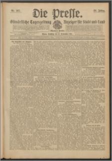 Die Presse 1911, Jg. 29, Nr. 267 Zweites Blatt, Drittes Blatt, Viertes Blatt, Fünftes Blatt