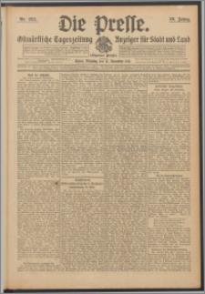 Die Presse 1911, Jg. 29, Nr. 268 Zweites Blatt, Drittes Blatt, Viertes Blatt