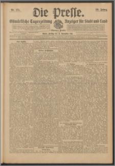Die Presse 1911, Jg. 29, Nr. 271 Zweites Blatt, Drittes Blatt