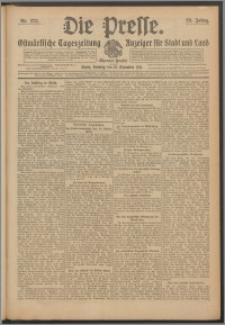 Die Presse 1911, Jg. 29, Nr. 273 Zweites Blatt, Drittes Blatt, Viertes Blatt, Fünftes Blatt