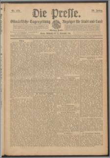 Die Presse 1911, Jg. 29, Nr. 275 Zweites Blatt, Drittes Blatt, Viertes Blatt