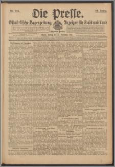 Die Presse 1911, Jg. 29, Nr. 276 Zweites Blatt, Drittes Blatt, Viertes Blatt