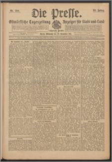 Die Presse 1911, Jg. 29, Nr. 280 Zweites Blatt, Drittes Blatt