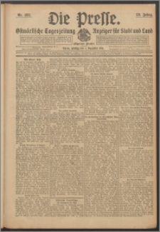 Die Presse 1911, Jg. 29, Nr. 282 Zweites Blatt, Drittes Blatt, Viertes Blatt