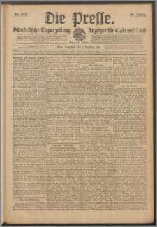 Die Presse 1911, Jg. 29, Nr. 283 Zweites Blatt, Drittes Blatt