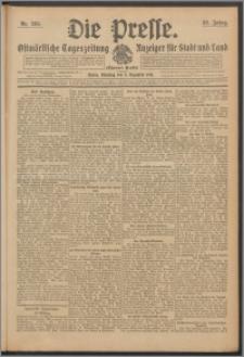 Die Presse 1911, Jg. 29, Nr. 285 Zweites Blatt, Drittes Blatt