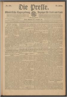Die Presse 1911, Jg. 29, Nr. 286 Zweites Blatt
