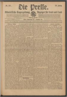 Die Presse 1911, Jg. 29, Nr. 287 Zweites Blatt, Drittes Blatt, Viertes Blatt