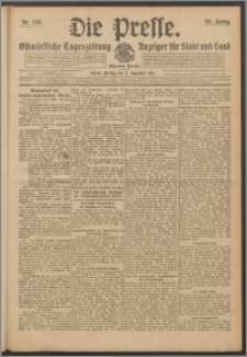 Die Presse 1911, Jg. 29, Nr. 288 Zweites Blatt, Drittes Blatt, Viertes Blatt