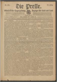 Die Presse 1911, Jg. 29, Nr. 289 Zweites Blatt, Drittes Blatt