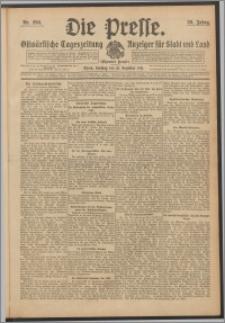 Die Presse 1911, Jg. 29, Nr. 290 Zweites Blatt, Drittes Blatt, Viertes Blatt, Fünftes Blatt, Sechstes Blatt