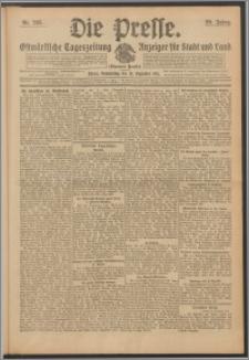 Die Presse 1911, Jg. 29, Nr. 293 Zweites Blatt, Drittes Blatt