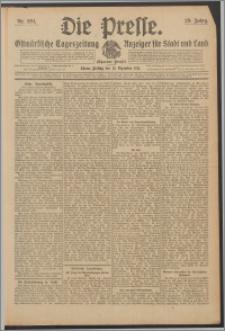 Die Presse 1911, Jg. 29, Nr. 294 Zweites Blatt, Drittes Blatt