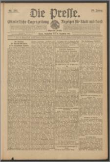Die Presse 1911, Jg. 29, Nr. 295 Zweites Blatt, Drittes Blatt