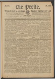 Die Presse 1911, Jg. 29, Nr. 296 Zweites Blatt, Drittes Blatt, Viertes Blatt, Fünftes Blatt, Sechstes Blatt