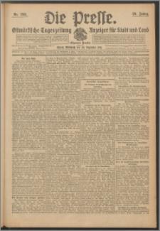 Die Presse 1911, Jg. 29, Nr. 298 Zweites Blatt, Drittes Blatt, Viertes Blatt