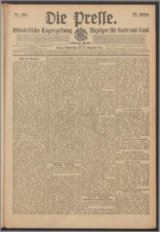 Die Presse 1911, Jg. 29, Nr. 299 Zweites Blatt, Drittes Blatt, Viertes Blatt