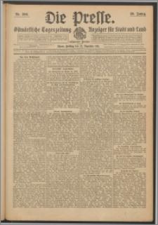 Die Presse 1911, Jg. 29, Nr. 300 Zweites Blatt, Drittes Blatt