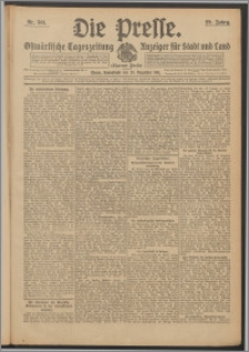 Die Presse 1911, Jg. 29, Nr. 301 Zweites Blatt, Drittes Blatt