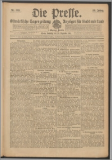 Die Presse 1911, Jg. 29, Nr. 302 Zweites Blatt, Drittes Blatt, Viertes Blatt, Fünftes Blatt