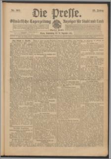 Die Presse 1911, Jg. 29, Nr. 303 Zweites Blatt