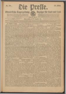 Die Presse 1911, Jg. 29, Nr. 304 Zweites Blatt, Drittes Blatt