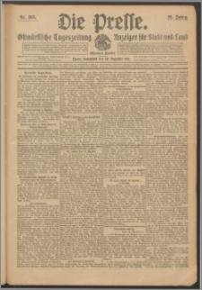 Die Presse 1911, Jg. 29, Nr. 305 Zweites Blatt, Drittes Blatt