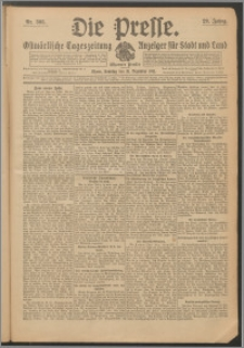 Die Presse 1911, Jg. 29, Nr. 306 Zweites Blatt, Drittes Blatt, Viertes Blatt, Fünftes Blatt