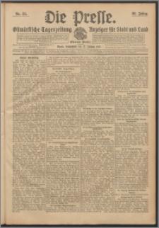 Die Presse 1912, Jg. 30, Nr. 22 Zweites Blatt, Drittes Blatt